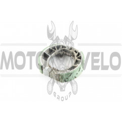 "Колодки тормозные (барабан) Zongshen, Lifan 125/150 (17 колесо) ""HDL"""