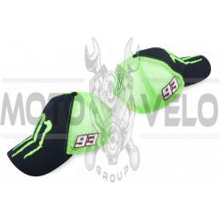 Бейсболка MONSTER ENERGY (черно-зеленая, сетка)