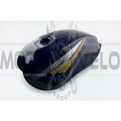 Бак топливный   Zongshen, Lifan, Minsk 125/150   (черный)   EVO