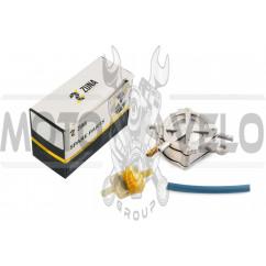 Бензонасос вакуумный Honda DIO (+топливный фильтр) ZUNA