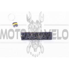 Брелок каучук (серо-желтый) KAWASAKI AS