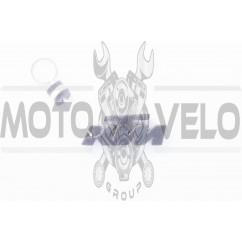 Брелок каучук (серо-белый) KTM AS