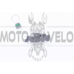Брелок каучук (серо-зеленый) KTM AS