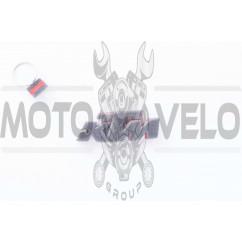 Брелок каучук (серо-красный) KTM AS