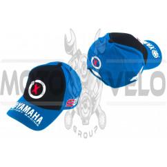 Бейсболка YAMAHA (черно-синяя)