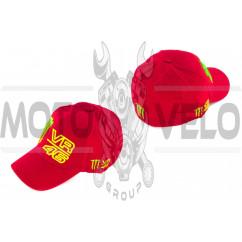 Бейсболка M (бордовая)