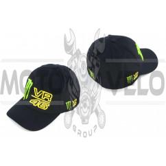 Бейсболка M (черная)