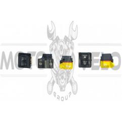 Кнопки руля (набор) Honda DIO AF18, TACT AF16 KOMATCU (mod.A)