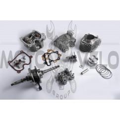 Тюнинг комплект 4T GY6 200 (поршневая, головка, коленвал) KOMATCU