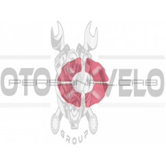 Резинка демпферная (комплект)   Delta   (красная, эластичная)   EVO