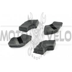 Резинка демпферная (комплект) Delta (черная) RUIBO