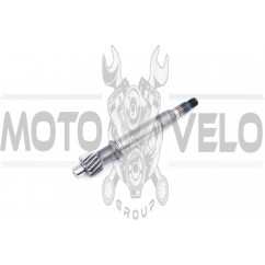 Вал редуктора 4T GY6 50 (под сцепление) EVO (mod:3)