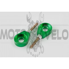 Натяжитель цепи трансмиссии 12mm (зеленый) RIDE IT