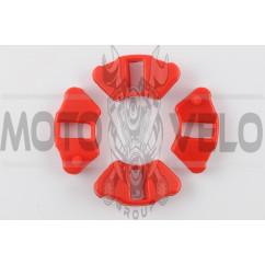 Резинка демпферная (комплект) Delta (красная, эластичная) MZK
