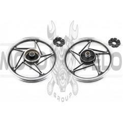 Диск колеса 1,85 * 18 (зад, барабан) (легкосплавный) Zongshen ZS125J ZY