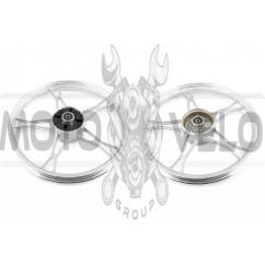 Диск колеса 1,4 * 17 (зад, барабан) (легкосплавный) Delta