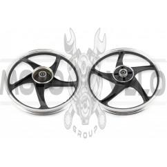 Диск колеса 1,4 * 17 (зад, барабан) (легкосплавный) Active