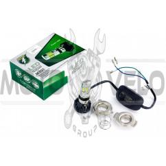 Лампа диодная универсальная с переходниками (12V, 6 кристаллов) GJCT
