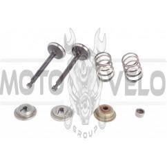 Клапаны (пара, в сборе) м/б 168F/170F (6,5/7Hp) ZS