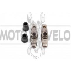 Коромысла клапанов (рокеры, пара) м/б 168F/170F (6,5/7Hp) (+гайки крепления) ZS