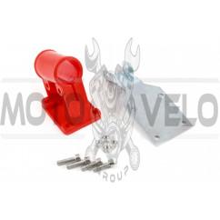 Крепление защитного кожуха мотокосы (+ пластина)