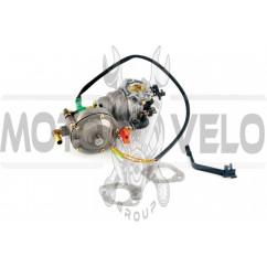 Карбюратор м/б 177F/188F (9/13Hp) (с газовым редуктором и электромагнитным клапаном) HORZA