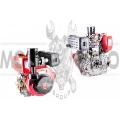 Двигатель м/б 186F (9Hp) (полный комплект) DIGGER