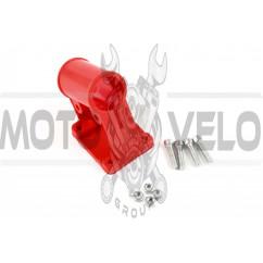 Крепление защитного кожуха мотокосы