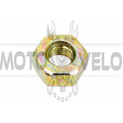 Гайка М10 х 1,25 (редуктора мотокосы с левой резьбой) BEST