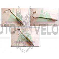 Глушитель веломотора   (длинный)   KL