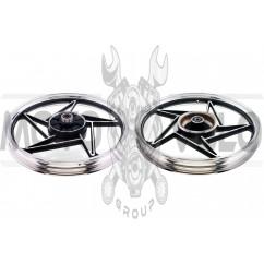 Диск колеса 1,85 * 18 (зад, барабан) (легкосплавный) Zongshen ZS125J ZUNA