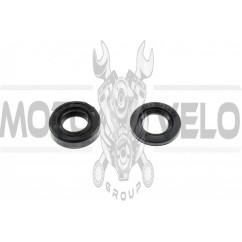 Сальники двигателя (набор, 2шт)   веломотор   KOMATCU   (mod.A)
