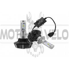 Лампы диодные автомобильные   (12V-24V, 4000 LUMENS, TEMPERATURE: 6000K, POWER:36W), пара