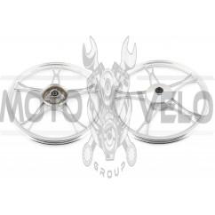 Диск колеса   1,2 * 17   (перед, барабан)   (легкосплавный)   Delta   EVO