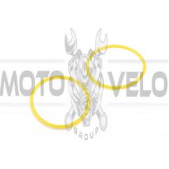Кольцо (манжет) гильзы уплотнительное м/б 195N (12Hp) (Ø95,00) DIGGER (2шт)