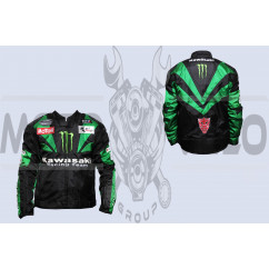 Мотокуртка KAWASAKI (текстиль) (size:XL, MONSTER ENERGY)