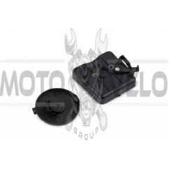 Фильтр воздушный мотокосы (заслонка, элемент, крышка элемента)