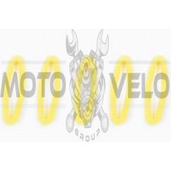 Элемент воздушного фильтра мотокосы круглый (поролон с пропиткой, 5шт) (желтый) AS