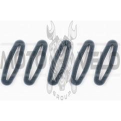 Элемент воздушного фильтра мотокосы круглый (поролон сухой, 5шт) (черный) AS