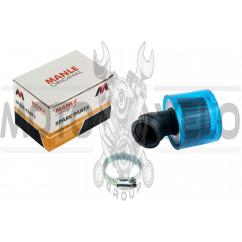 Фильтр воздушный (нулевик) Ø35mm, 45*, (синий, прозрачный) MANLE