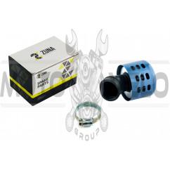Фильтр воздушный (нулевик) Ø35mm, 45*, (синий) ZUNA
