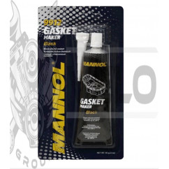 Герметик   85г   (черный) (вулканизирующийся)    (9912 Gasket Maker Black)   MANNOL, шт