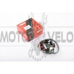 Статор генератора Yamaha VINO 125, CYGNUS 125 5NW (6+1 катушек, 5 проводов) STAR