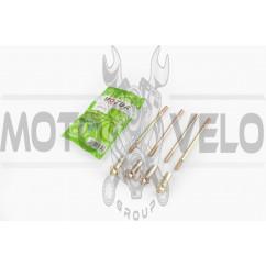 Шпильки цилиндра (4шт) 4T CG125/150 (+гайки) MOZBA