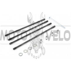 Шпильки цилиндра (4шт) 4T CB125/150 (+гайки) ZZQ