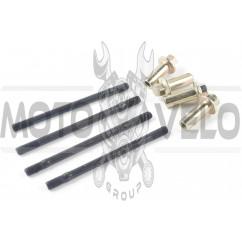 Шпильки цилиндра (4шт) 4T CG125/150 (+гайки) ZZQ