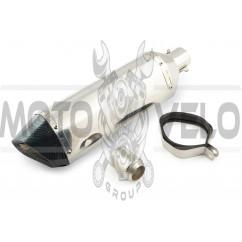 Глушитель (тюнинг) 460*130mm (нержавейка, хром, mod:2) 118