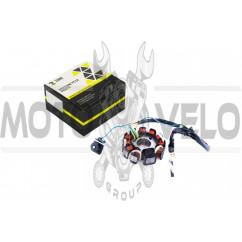 Статор генератора 4T GY6 125/150 (10+1 катушек) ZUNA