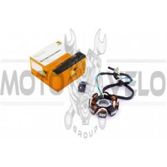 Статор генератора 4T GY6 125/150 (7+1 катушек) HORZA