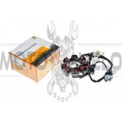 Статор генератора Honda DIO ZX (8 катушек) HORZA